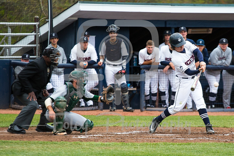 Connecticut Huskies infielder Willy Yahn (6)