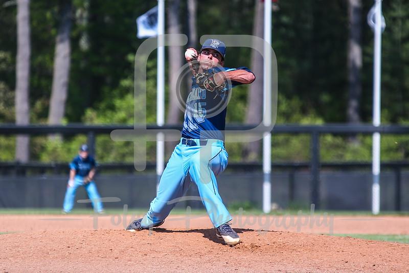 Rhode Island Rams pitcher Matt Murphy (15)