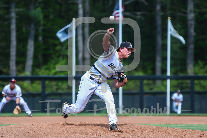 Bryant Bulldogs pitcher James Karinchak (6)