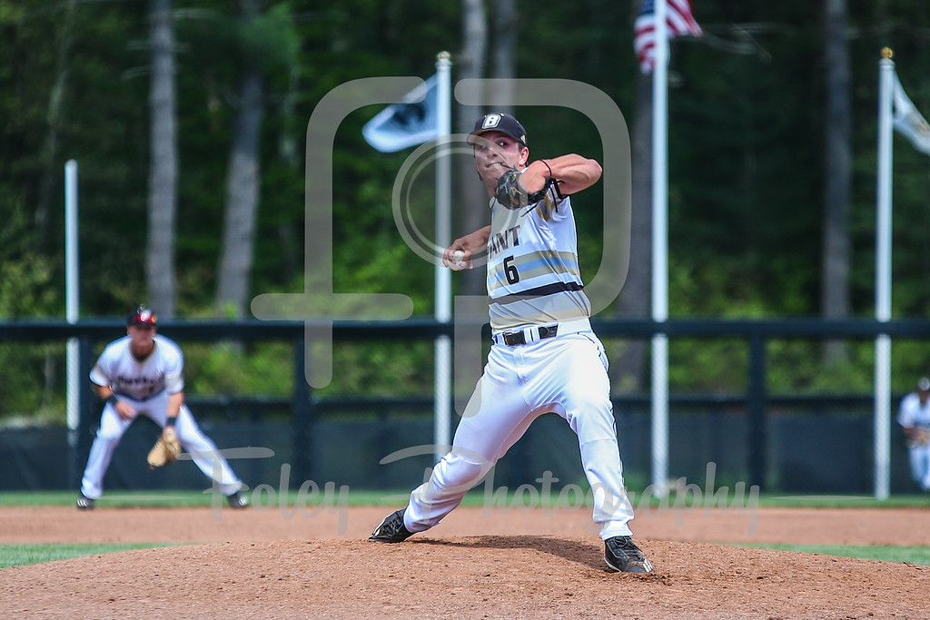 Bryant Bulldogs pitcher James Karinchak (6)