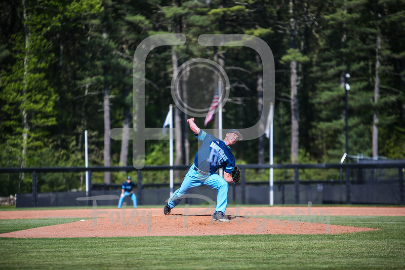 Rhode Island Rams pitcher Mark Silvestri (19)