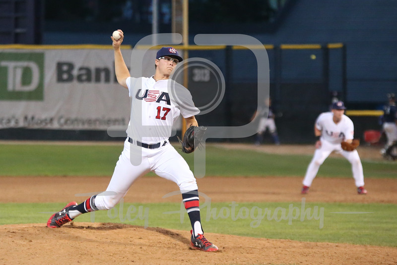 USA Collegiate National Team Jake Irvine (17) of Oklahoma