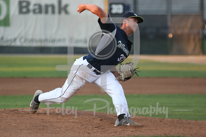 Futures League pitcher Billy Devito of Hartford