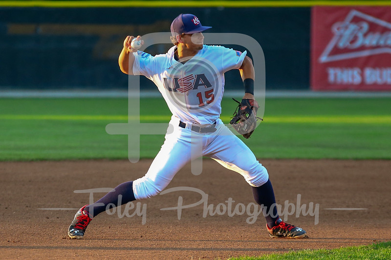 USA Collegiate National Team Jeremy Eierman (15) of Missouri State