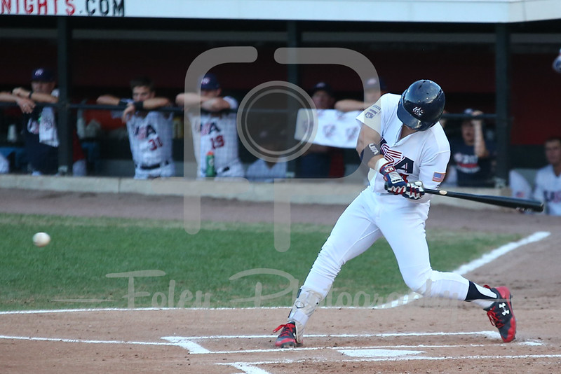 USA Collegiate National Team outfielder Steele Walker (4)
