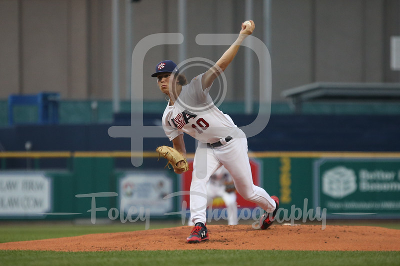 USA Collegiate National Team Tyler Holton (10) of Florida State