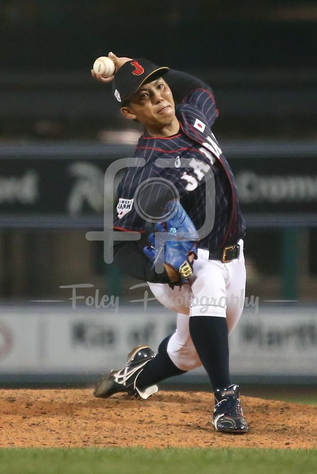 Japan Collegiate All-Star Team LHP Katsuki Azuma (21)