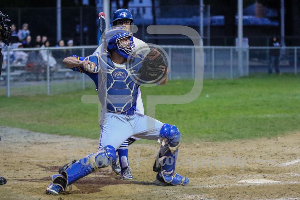 Worcester State Lancers catcher Brian Bonacquisti (24)