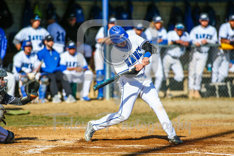 Becker College Hawks outfielder Willis Pollard (29)