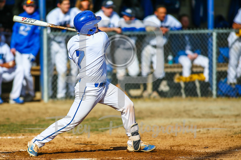 Becker College Hawks catcher Cameron Plank (7)
