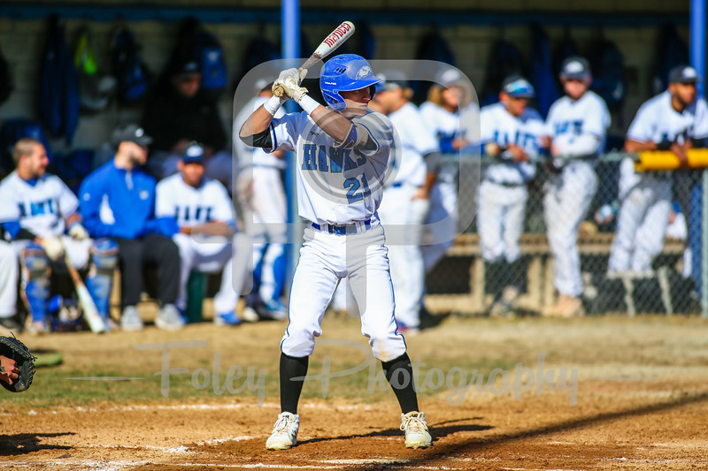 Becker College Hawks Chris Testa (21)