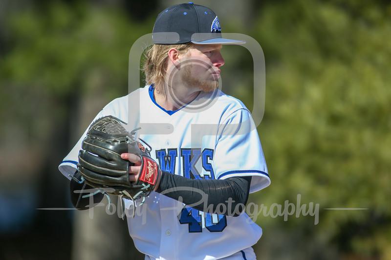 Becker College Hawks Nicholas Hawrylciw (40)