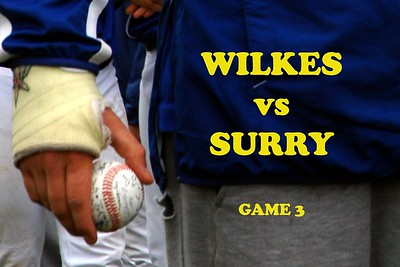 WILKES CC vs SURRY CC, GAMES 3& 4, 04/20/08