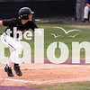 The Eagles play against Sanger on April 13, 2018 at Sanger Highschool in Sanger, Texas, on April 13, 2018. (Quinn Calendine / The Talon News)