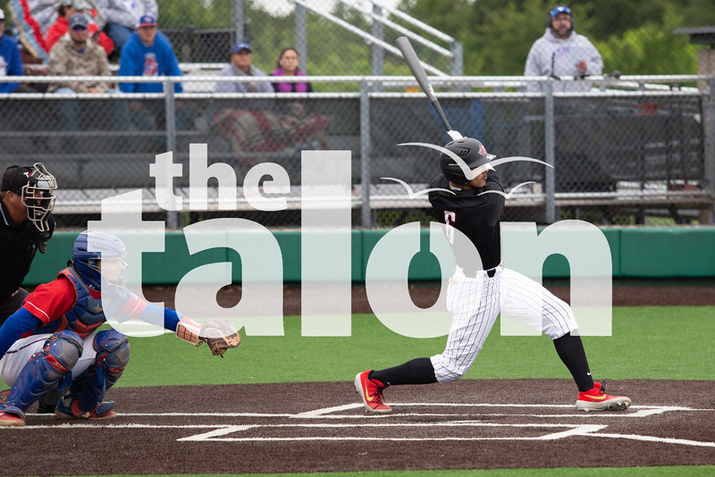 Baseball plays in round two against the Graham Steers at Argyle High School in Argyle, Texas, on April 9, 2014. (Jordyn Tarrant / The Talon News)