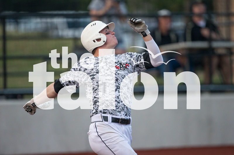 The Eagles vs Pleasant Grove in game one of the playoff series at John Paul II High School in Plano, Texas.