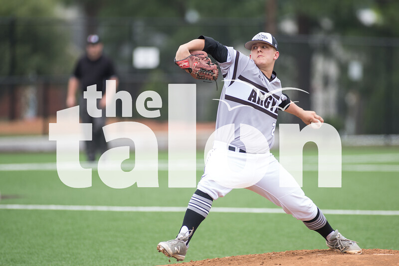 The Eagles take on Sanger at Argyle High School in Argyle, Texas on May 21, 2016. (Christopher Piel/The Talon News)