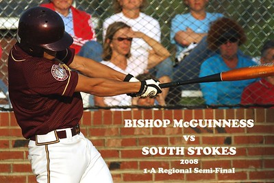 Bishop McGuinness vs South Stokes, 2008 Regional Semi-Final