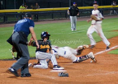 More homeplate action...