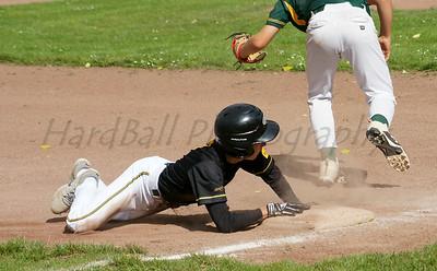 .....sliding like a ballplayer.