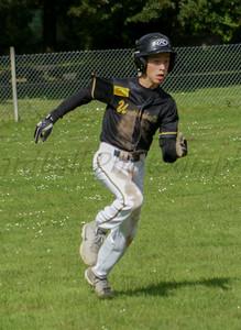 Looking like a ballplayer....