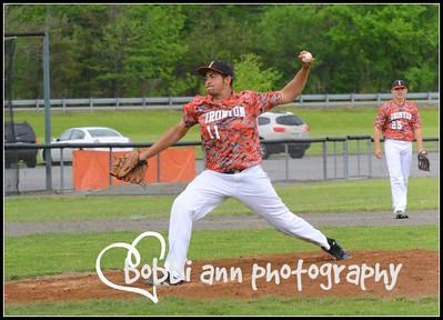 Ironton @ West Varsity Baseball May 2014