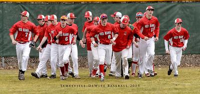 Jamesville-DeWitt 2015 Baseball