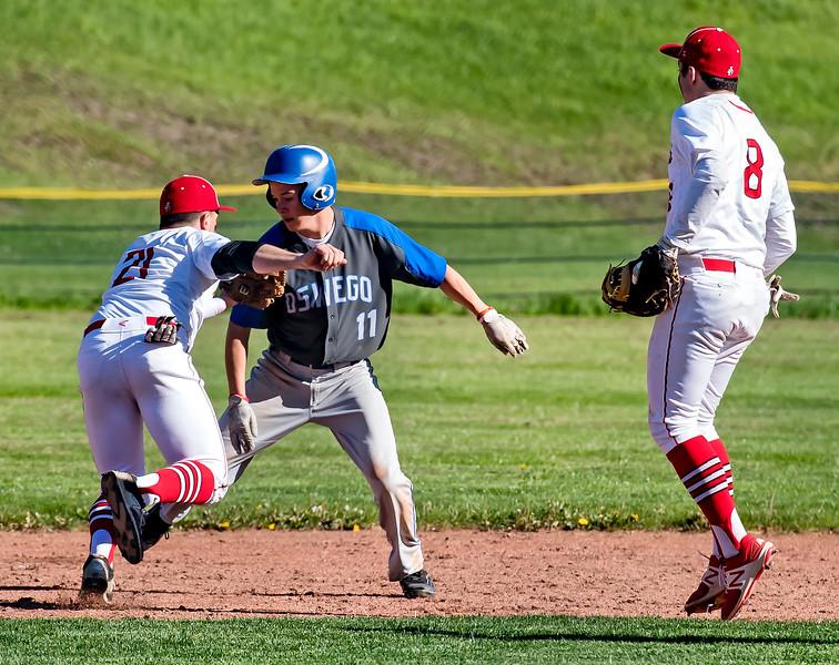 Oswego at Jamesville-DeWitt Baseball May 15, 2017