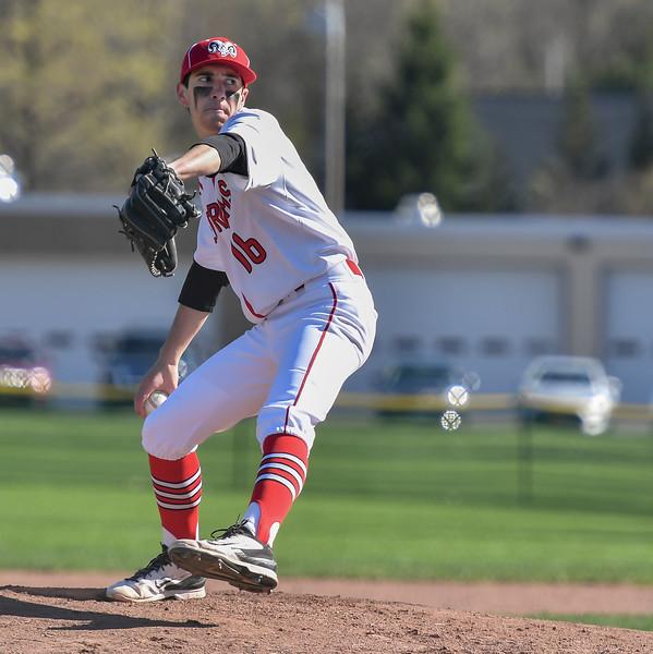 Jamesville-DeWitt vs Vernon-Verona-Sherrill - Baseball - Apr 17, 2017