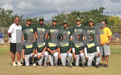 """Kahaluu """"vs"""" Nationals - West Oahu Baseball 16U - Photos by Alan Kang"""