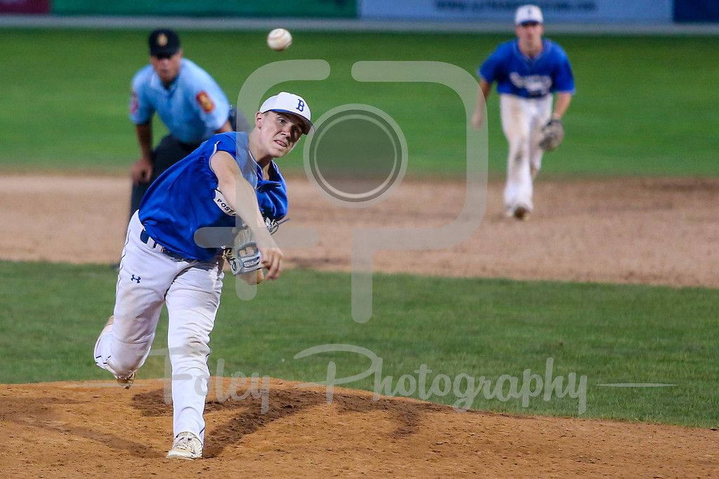 8/3/17, Hanover Insurance Park at Fitton Field Worcester, MA: during the Braintree American Legion 4-1 win over Bangor in the 2017 Northeast Regional held at Hanover Park at Fitton Field.
