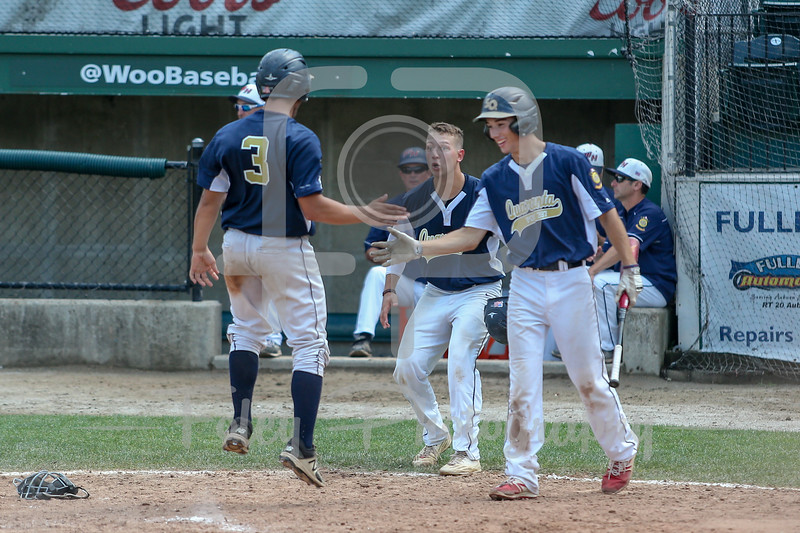 8/3/17, Hanover Insurance Park at Fitton Field Worcester, MA: during the Shrewsbury Legion 9-1 victory over West Hartford in the 2017 Northeast Regional held at Hanover Insurance Park at Fitton Field.