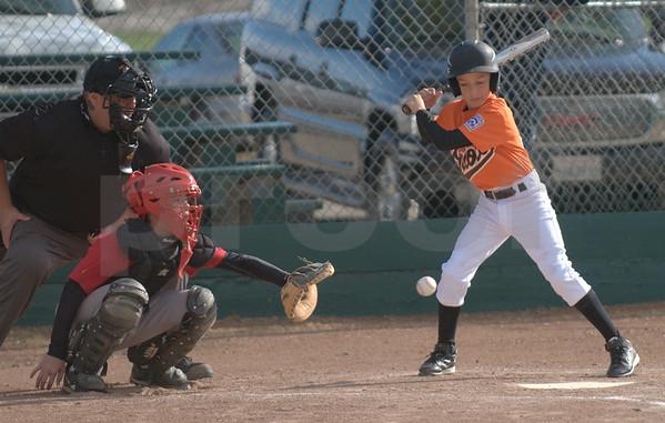 Tracy Little League Orioles vs. Angels April 7th. 2011