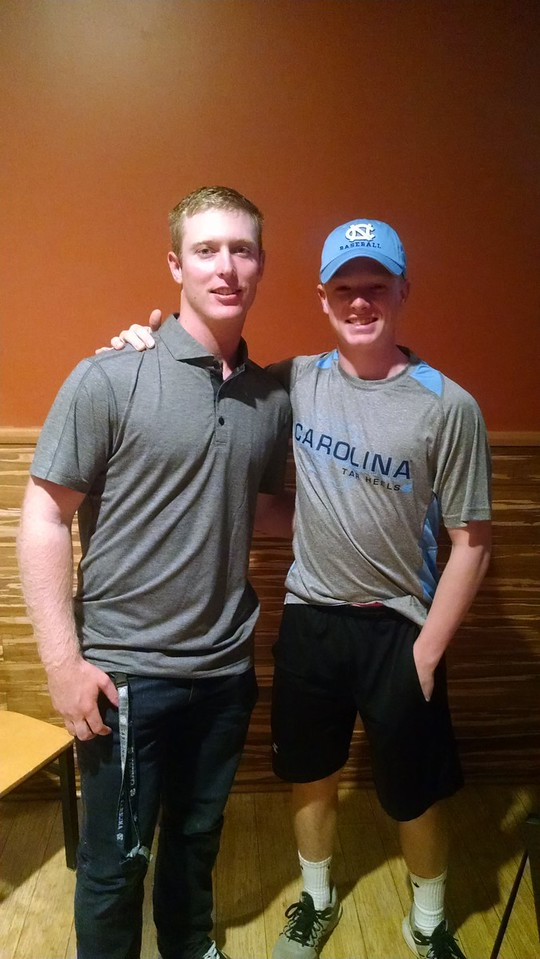 Carson & JB Bukauskas of Diamond Elite, UNC and Astros Baseball