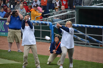 NH Fishercats vs. Binghamton Mets at Northeast Delta Dental Stadium (Apr 20,2013)