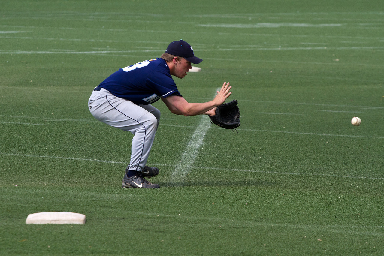 Cam Duval During Infield Warm Ups