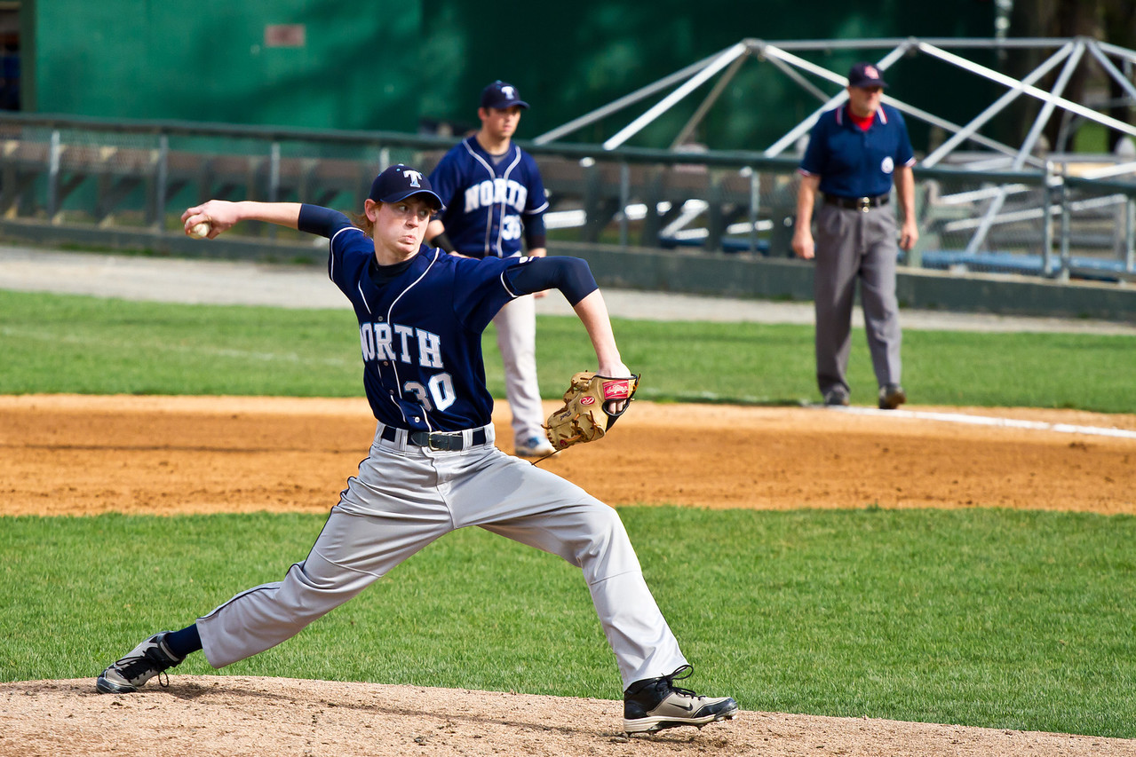 Connor Root Delivers A Pitch Against Alvirne