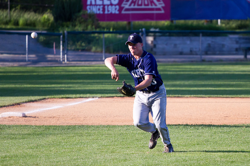 Cam Duval During Infield Warm Ups Prior to Trinity Playoff Game
