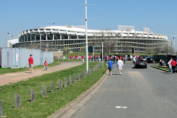 Nats Opening Day, 2007