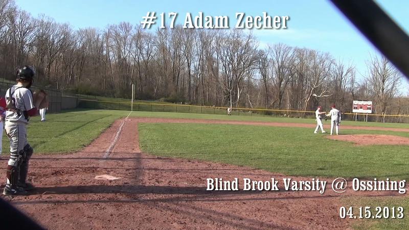 #17 Adam Zecker @ Bat