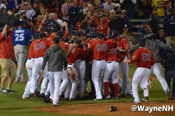 Red Sox 2013 Clinch AL Eastern Division
