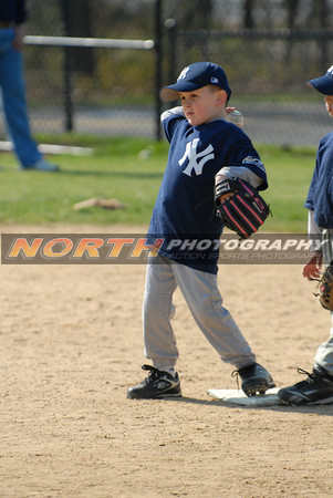 (6 yrs old) Yankees vs Rays