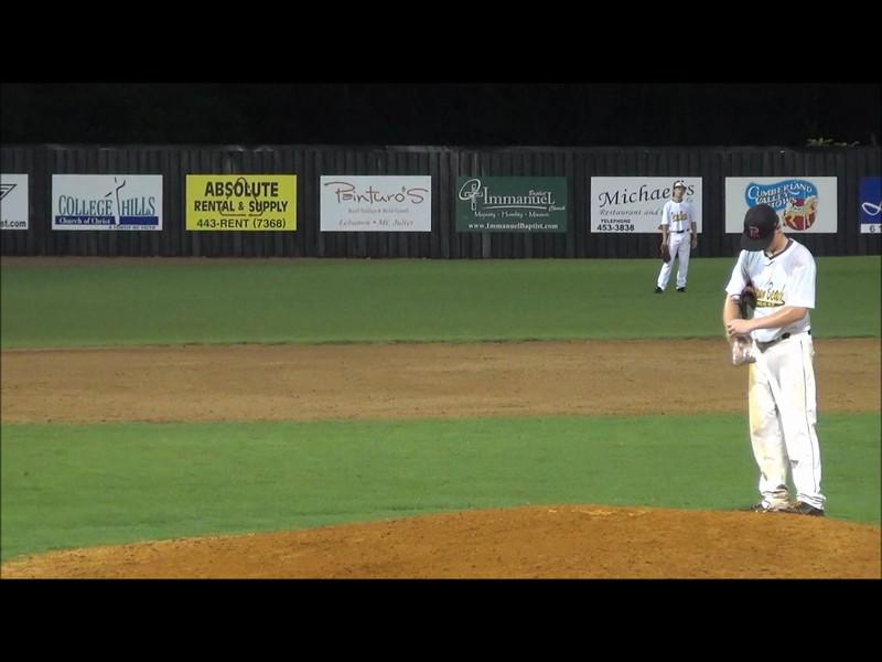 #1 Brice Dealen pitching.