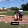 Top 6th:  #15 Alex Volpi & # 23 Joey Assenza makes the outs.