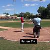 Bottom 7th: #18 Sean Trenholm, #9 Edward Napkin, Michael Arboleda, & #13 Christian Johnson at bat.
