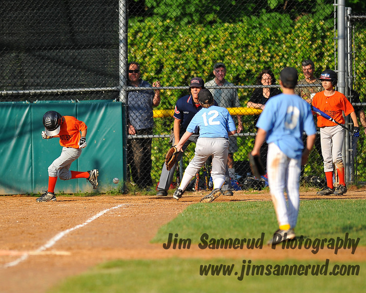 Wild pitch and a run scored.
