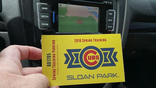 Spring training 2016