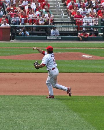 St. Louis Cardinal Baseball 6/19/08 vs Kansas City Royals