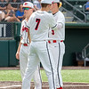The Argyle Eagles baseball team defeats La Vernia with a final score of 16-0 in the fifth inning at UFCU Disch Falk Field in Austin, Texas, on June 5, 2019. (Andrew Fritz | The Talon News)