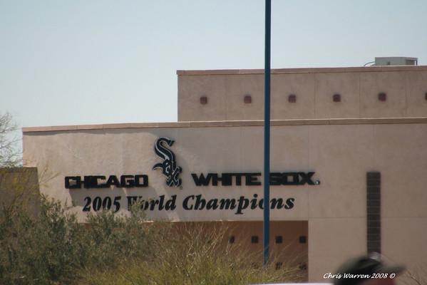 Texas Rangers at AZ Diamondbacks 3-20-2008